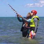 Cours particulier de kitesurf